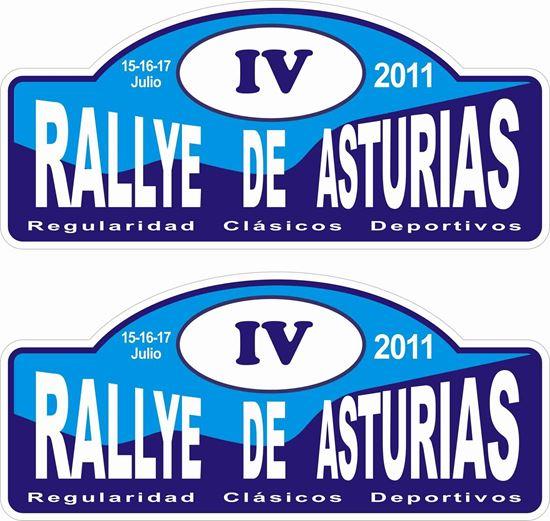 Picture of Rallye De Asturias Decals / Stickers