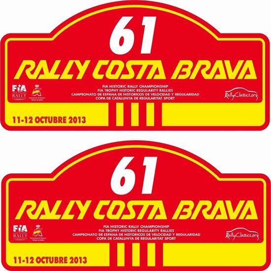 Picture of Rally Costa Brava Decals / Stickers