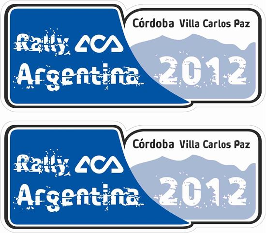 Picture of Rally Argentina Decals / Stickers