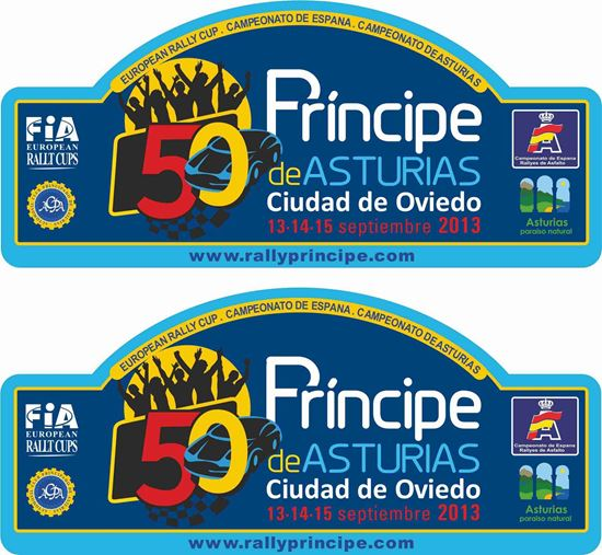 Picture of Rally Principe de Asturias Decals / Stickers