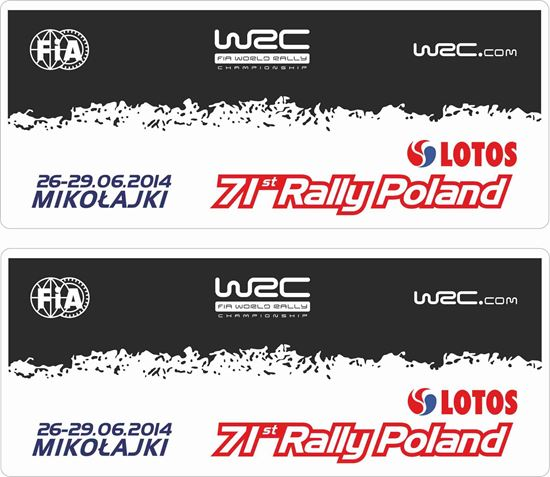 Picture of Rally Poland Decals / Stickers