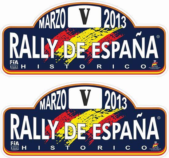 Picture of Rallye de Espana Decals / Stickers