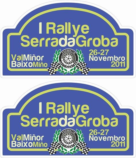 Picture of I Rally Serrada Groba Decals / Stickers