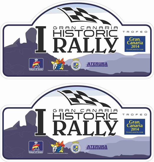 Picture of Gran Canaria Rally Historic  Decals / Stickers