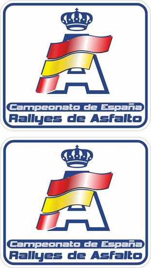 Picture of Rallyes de Asfalto Decals / Stickers