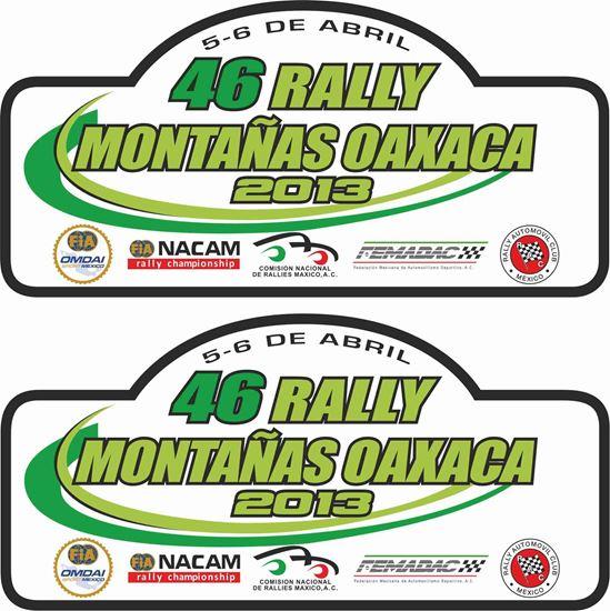 Picture of Rallye Montanas Oaxaca Decals / Stickers