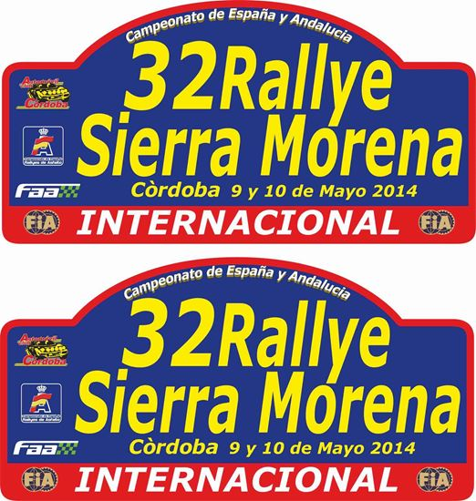 Picture of 32 Rallye Sierra Morena Decals / Stickers