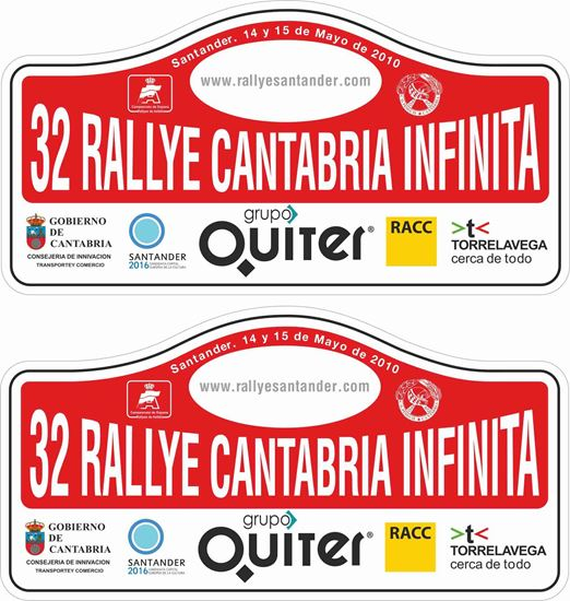 Picture of Rallye Cantabria Infinita Decals / Stickers