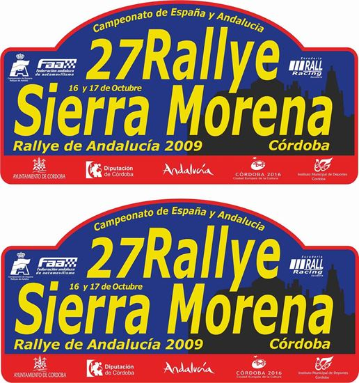 Picture of 27 Rallye Sierra Morena Decals / Stickers