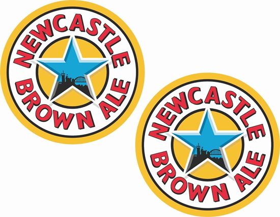 Picture of Newcastle Brown Ale Decals / Stickers