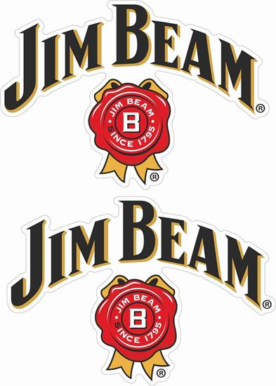 Picture of Jim Beam Decals / Stickers