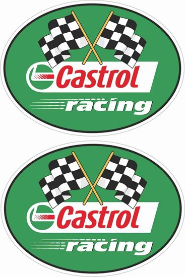 Picture of Castrol Racing Decals / Stickers