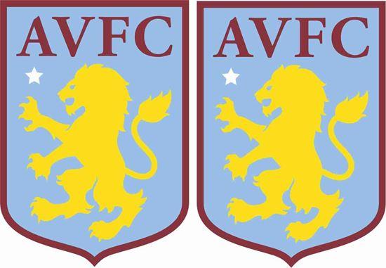 Picture of Aston Villa FC Decals / Stickers