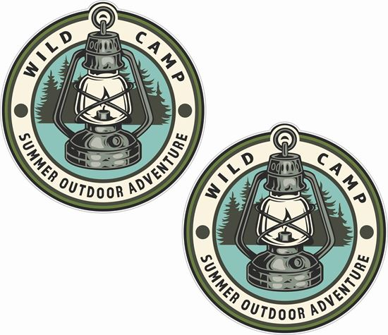 Picture of Wild Camp Decals / Stickers