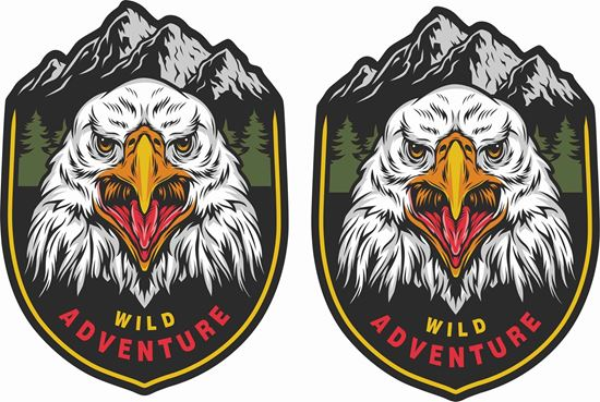 Picture of Wild  Adventure Decals / Stickers