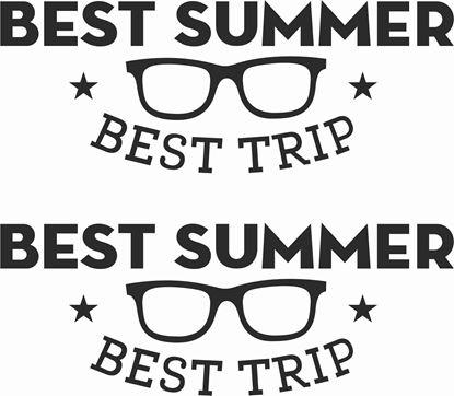Picture of Best Summer Best Trip Decals  / Stickers