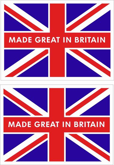 Picture of Made in Great Britain Decals / Stickers
