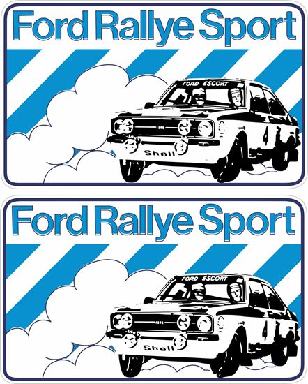 Picture of Ford Rally Sport Decals / Stickers