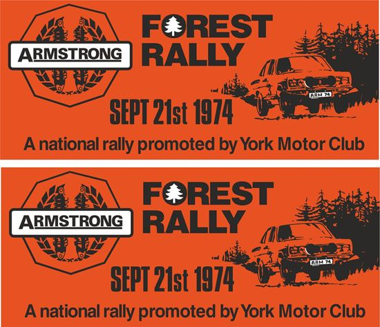 Picture of 1974 Armstrong Forest Rally York  Decals / Stickers