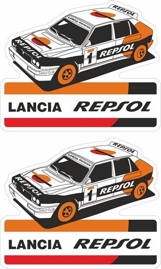 Picture of Lancia Delta Integrale Repsol Decals / Stickers