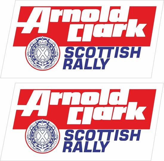 Picture of Arnold Clarke Scottish Rally Decals / Stickers
