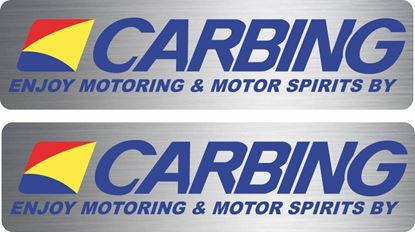 Picture of Carbing Strut Brace Decals / Stickers