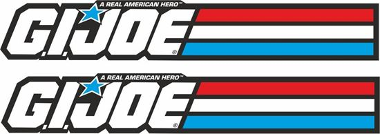 Picture of GI Joe Decals / Stickers