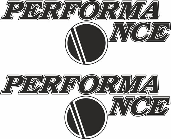 """Picture of Ducati """"Performance"""" Decals / Stickers"""