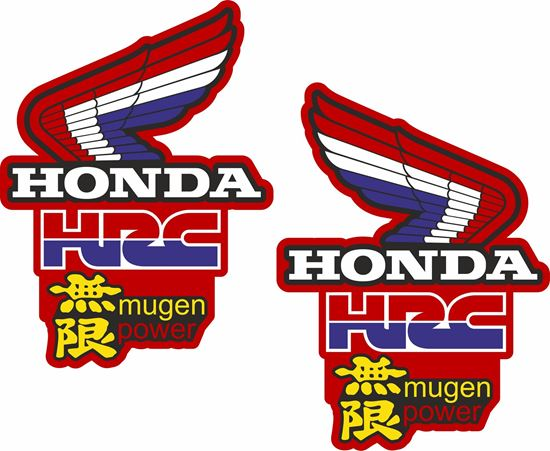 Picture of Honda CR500 Mugen Power replacement Tank Decals / Stickers