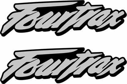 Picture of Honda Fourtrax Decals / Stickers