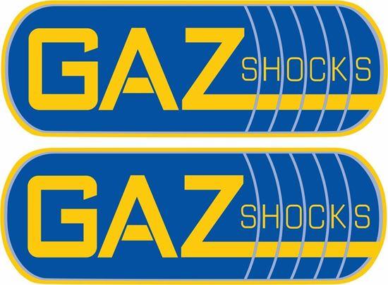 Picture of Gaz Shocks Decals / Stickers
