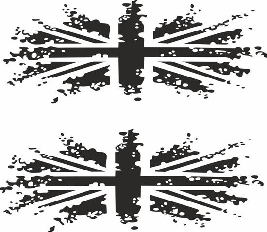 Picture of Union Jack Decals / Stickers