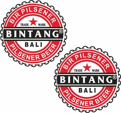 Picture of Bintang Decals / Stickers