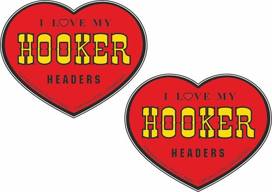 Picture of Hooker Headers  Decals / Stickers