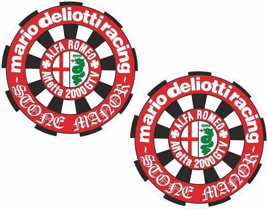 Picture of Alfa Romeo Alfetta 2000 GTV Decals / Stickers