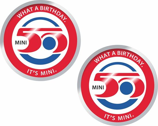 Picture of Mini 50 Years Decals / Stickers