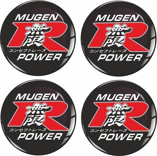 Picture of Mugen Type R Wheel centre Gel Badges