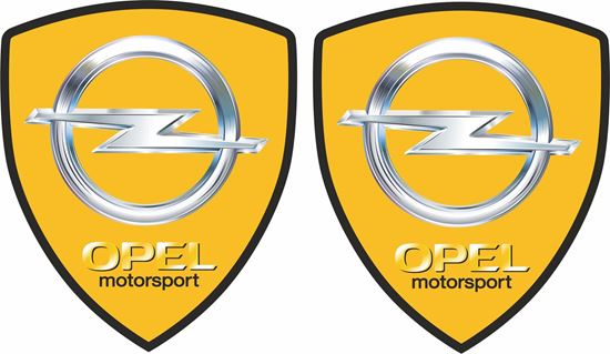 Picture of Opel Motorsport Wing / Panel Badges 80mm