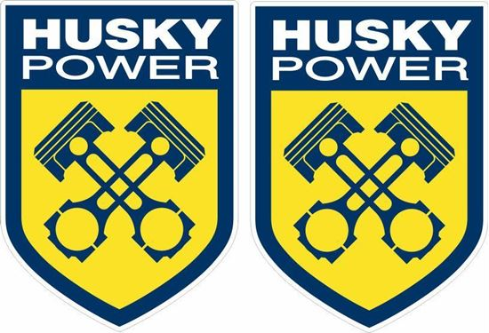 Picture of Husky Power Decals / Stickers