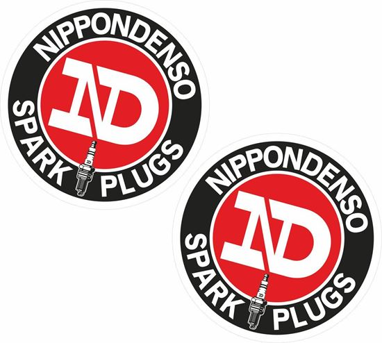 Picture of Nippondenso Spark Plugs Decals / Stickers