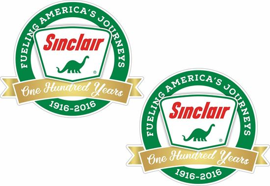 Picture of Sinclair Dino Decals / Stickers