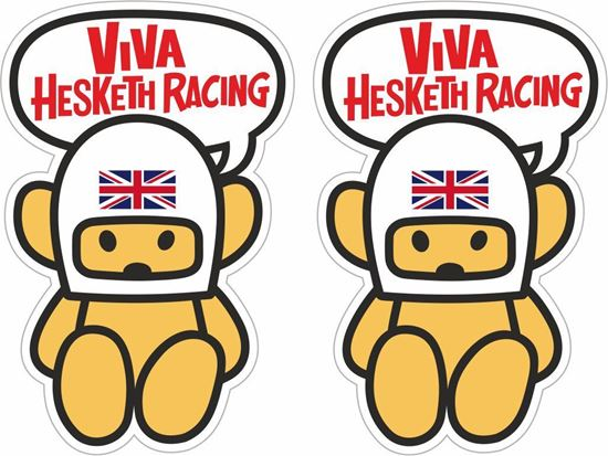 Picture of Viva Hesketh Racing Decals / Stickers