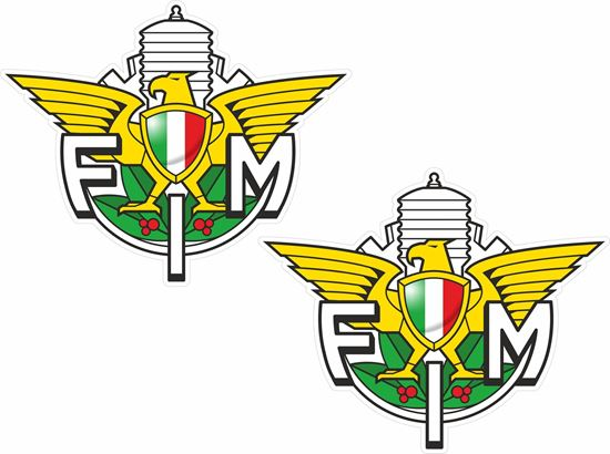 Picture of Federation Italian Motorcycles Decals / Sticker