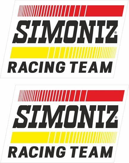 Picture of Simoniz Racing Team Decals / Stickers