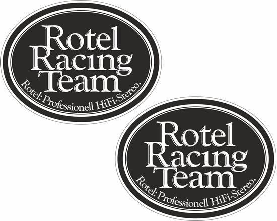 Picture of Rotel Racing Team Decals / Stickers