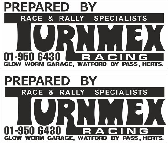 Picture of Turnmex Racing Decals / Stickers