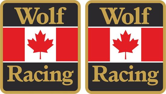 Picture of Walter Wolf Racing Decals / Stickers