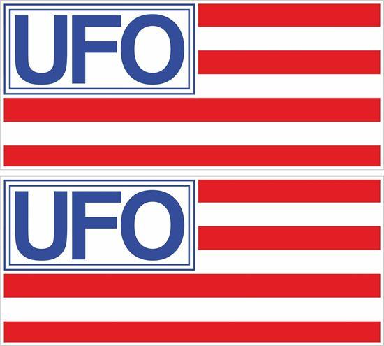 Picture of UFO Jeans Original Period Decals / Sticker