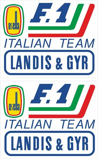 Picture of Osella 1987 F1 Team Decals / Stickers