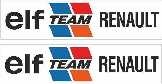 Picture of elf Team Renault Decals / Stickers
